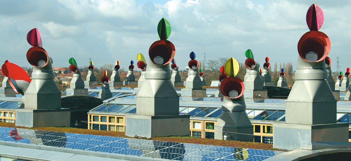 BedZED_roofs_2007